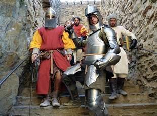 THE CHALLENGES OF THE KNIGHT - Fort Saint Elme
