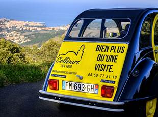 Collioure 2CV Tour
