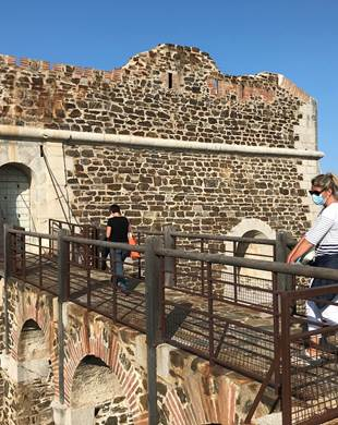 Visit of the forts