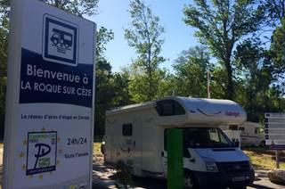 Aire de Services et de Repos à La Roque sur Cèze
