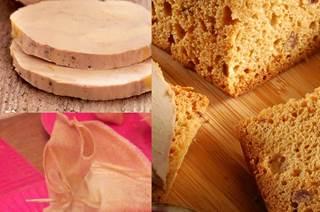 Aumônières de pain d'épices aux figues et foie gras