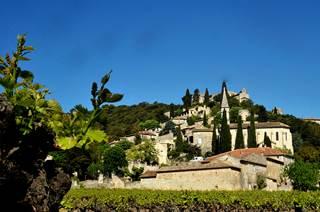 La Roque sur Cèze, village perché