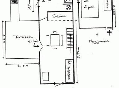 Appartement / 4 personnes / MAISONS DES SABLES IV