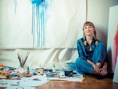 l'atelier de peinture