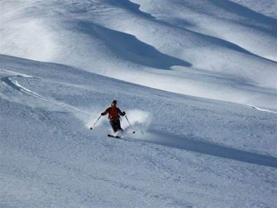 Hors piste télémark et ski