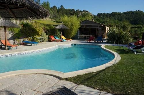 chambre d hote mas suejol anduze piscine ©