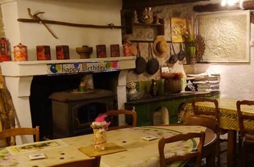 Restaurant du Gîte d'Etape Anduze en Cévennes ©