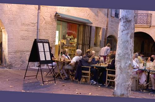 Restaurant Terroir Uzès ©