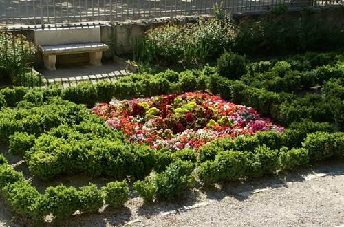 Jardins de la Fontaine - Parterre Temple de Diane ©