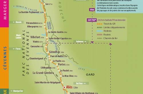 Itinéraire régordane GR700 ©