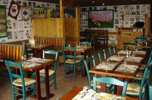 Restaurant La Pataterie salle de restaurant  ©