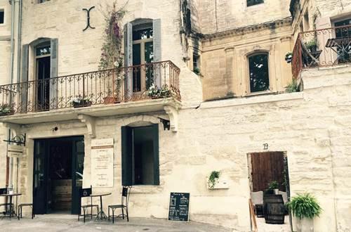 La Maison Comte restaurant salon te thé associatif Uzès © La Maison Comte