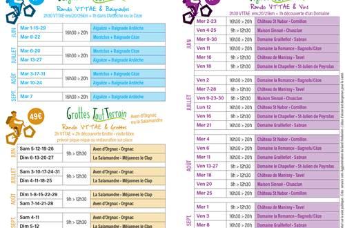 Programme VTT et vins © OT PROVENCE OCCITANE