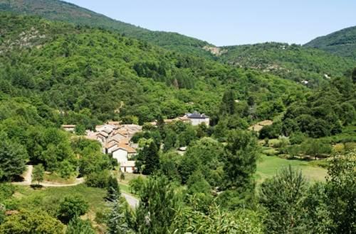 Village en Haute Vallée de la Cèze ©