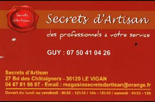 secrets artisan ©