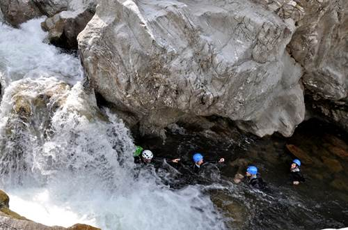 parfum d'aventure canyoning ©