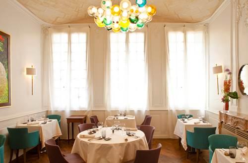 La Table d'Uzès une des salles du restaurant © La Table d'Uzès - Christophe Bielsa