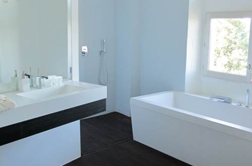 Salle de bain Portrait ©