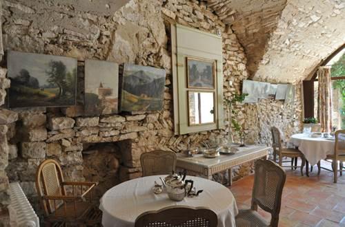 Salle petit déjeuner © Bernard Houvet