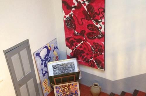 Galerie Toscane escaliers ©