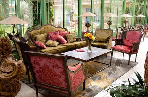 Hôtel Villa Mazarin salon ©