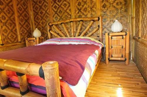 Cabane en Bambou - Chambre ©