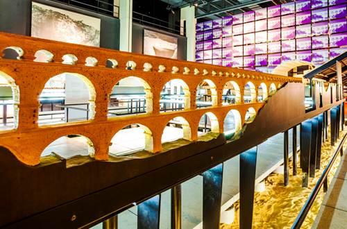 maquette aqueduc pont du gard © Rodriguez