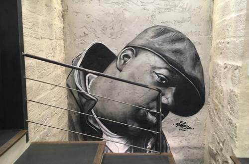 Raisonnable et humain - Galerie artiste peintre - décoration murale © R&H - Swed