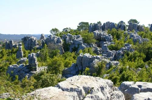 Randonnée la mer des rochers Quissac Sauve ©