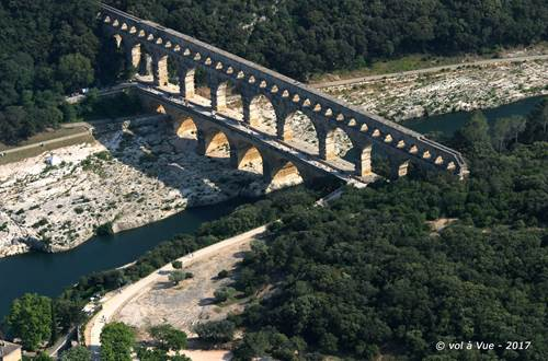 Pont du Gard © Vol a vue