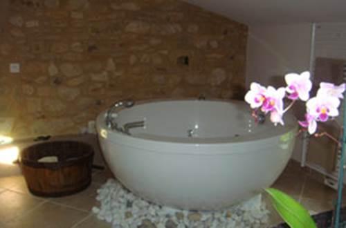 Salle de bains chbre L'ORCHIDEE ©