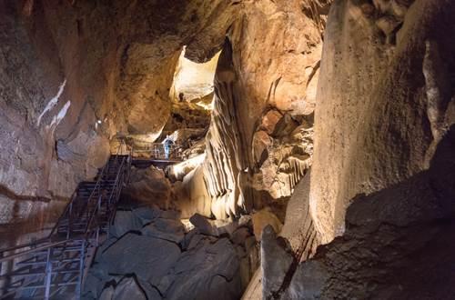 Grotte de Trabuc - Fracture de Galerie ©