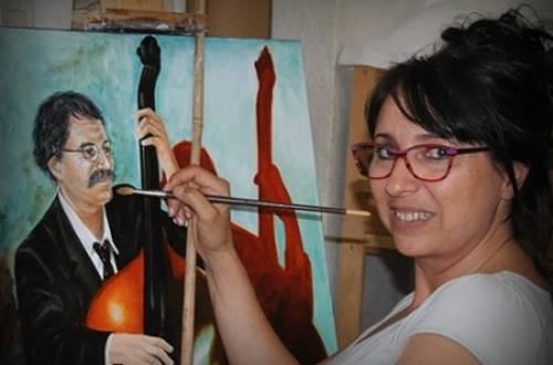 Sylvie Roussel Meric - l'atelier dans les vignes artiste peintre © Sylvie Roussel Meric - l'atelier dans les vignes