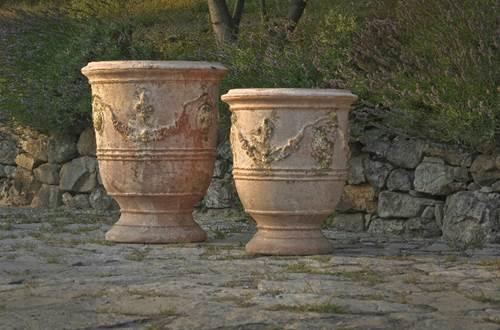Vase d'Anduze Chêne vert ©