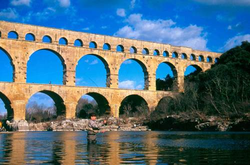 Pont du Gard - Pêche ©