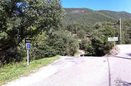 L'entrée du hameau ©