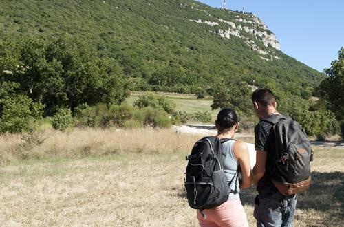 Randonnée au Mont Bouqter, proche d'Alès dans le Gard ©