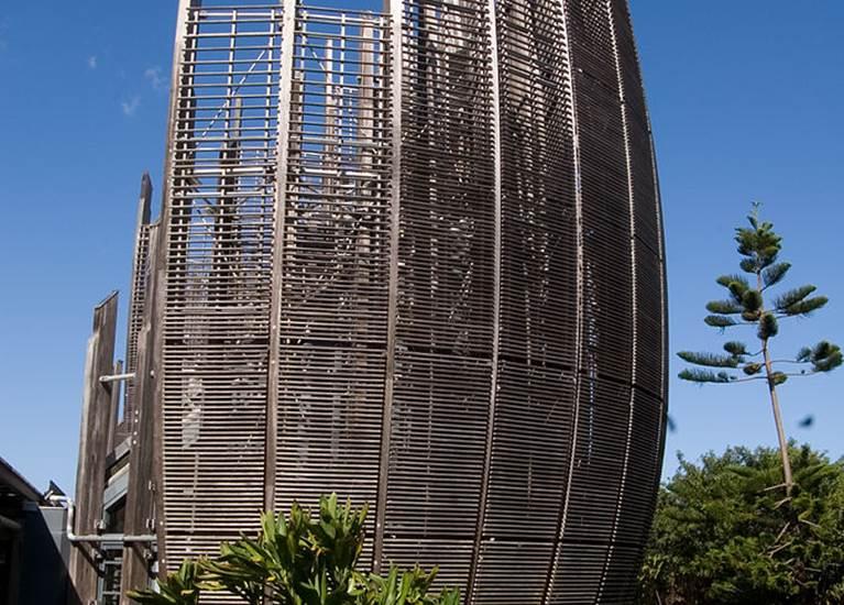 Architecture centre culturel Tjibaou