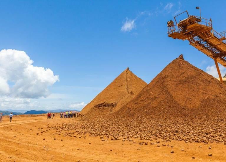 Pyramide minerai