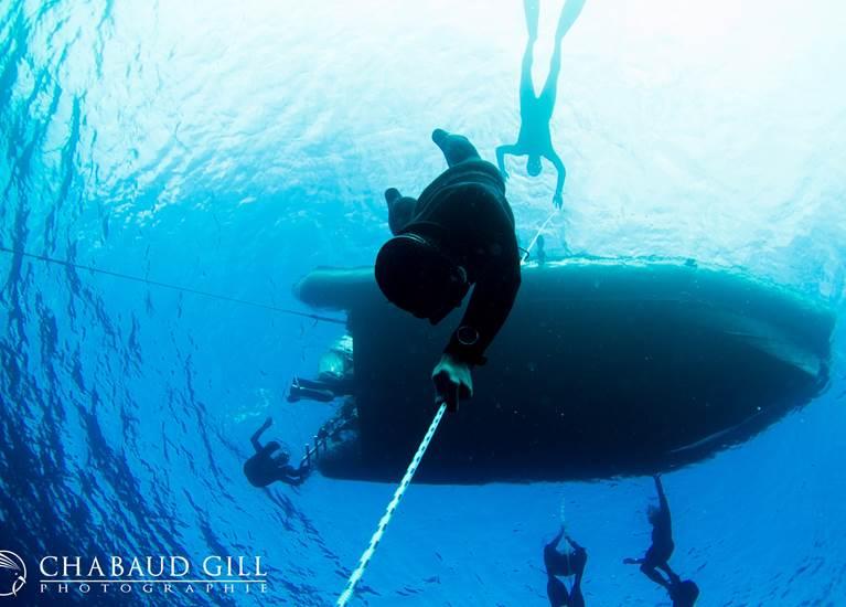 Descente en immersion libre