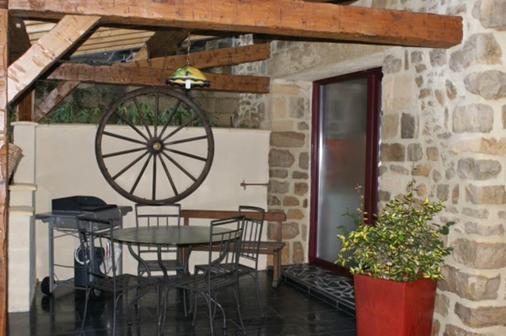 Terrasse - Gîte Les Cabus -MS 144
