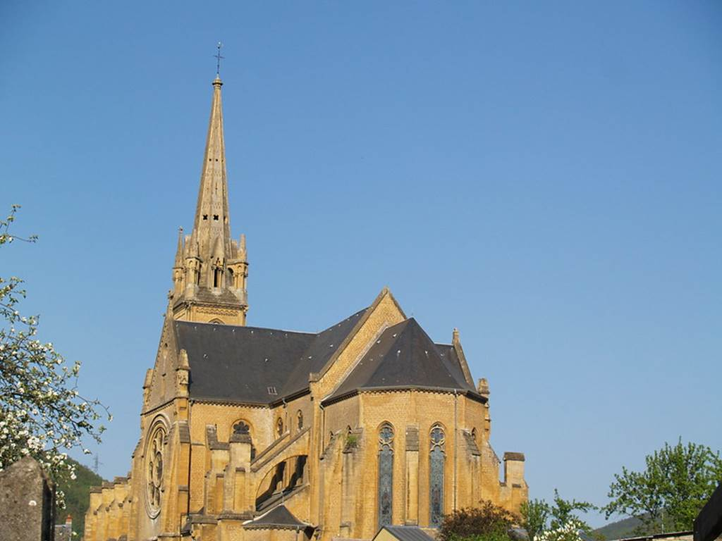 Eglise Saint-Georges à Fumay