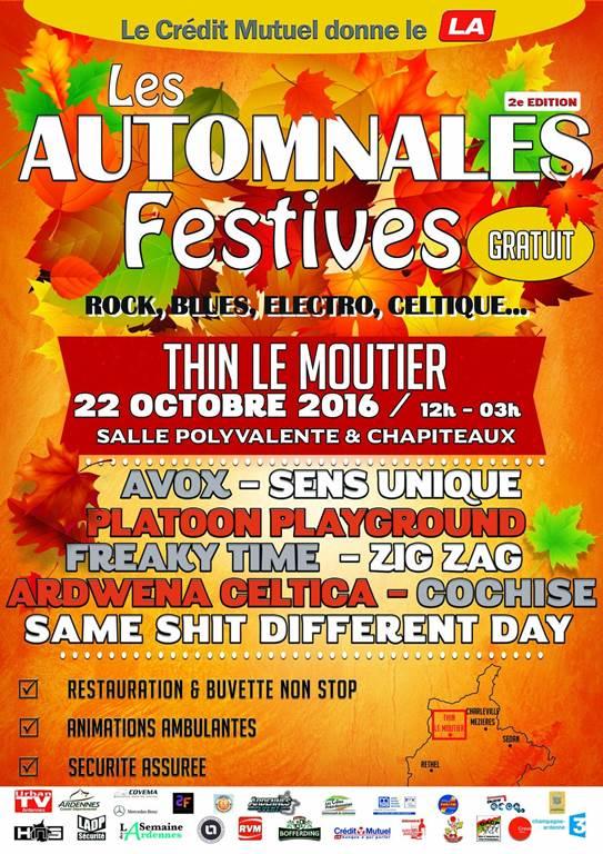 Les Automnales Festives 2016