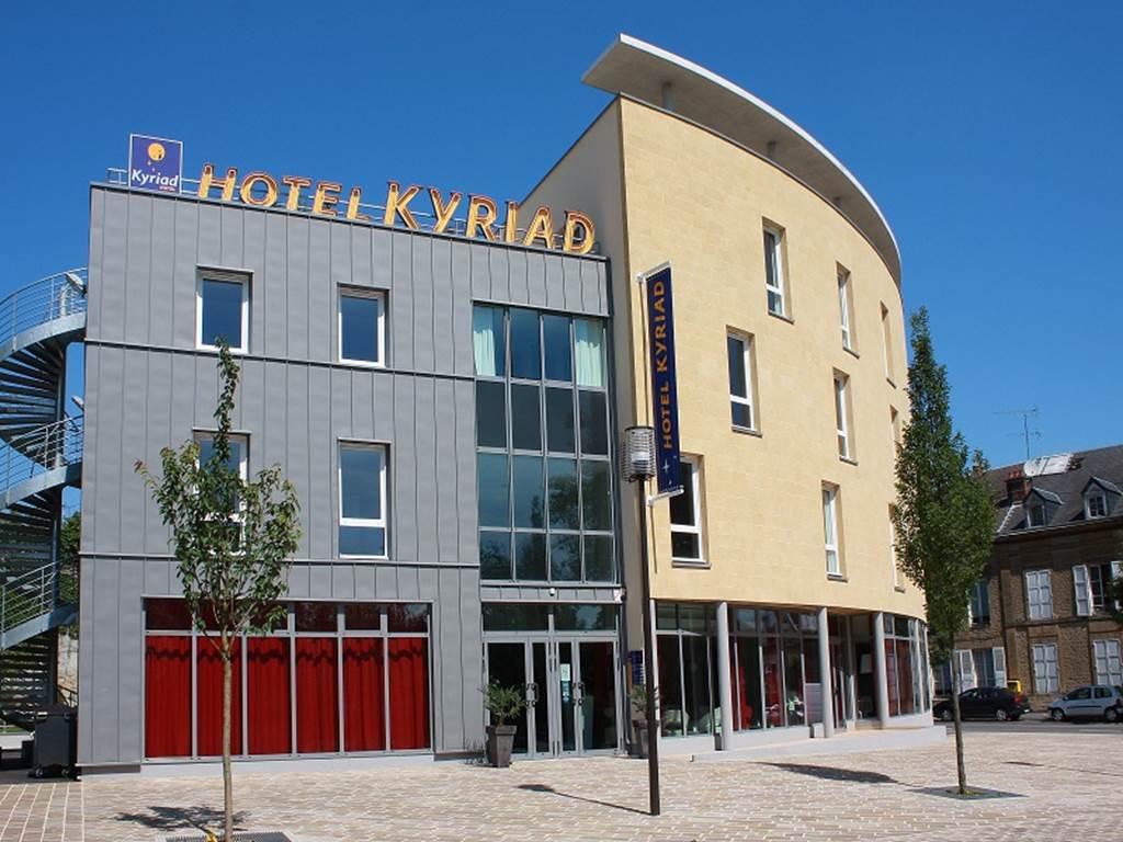 hôtel kyriad hall accueil